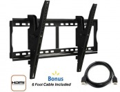 "60% off @.com Tilting Wall Mount for 37"" to 70"" TVs and HDMI Cable"