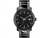 $189 off Bulova Men's Black Bracelet Watch with Date, 98B196