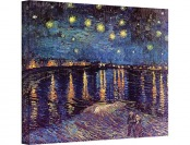 "$249 off Van Gogh Starry Night Over the Rhone 24x32"" Canvas Art"