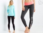 50% off LLD Sparkle Script Leggings, 2 Color Choices