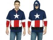 Extra 40% off Captain America Men's Fleece Hoodie