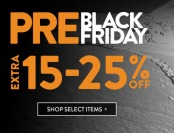 Pre Black Friday Sale - Save an Extra 15% to 25% Off
