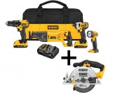 $300 off DeWalt 20-Volt MAX Lithium-Ion Cordless Combo Kit