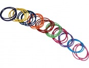 83% off Remington Girls 2mm Colored Elastics - 35 Count