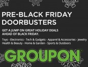 Pre-Black Friday Doorbusters - Deals on toys, electronics, etc.
