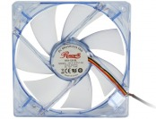 69% off Rosewill 120mm Silent Computer Case Fan w/ 4 Blue LEDs