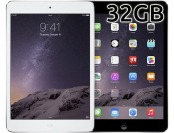 Extra $75 off Apple iPad mini 2 with Wi-Fi 32GB, Gray or White