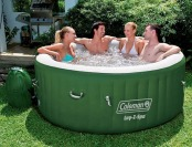 $201 off Coleman Lay-Z Spa 4-6 Person Inflatable Hot Tub