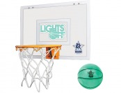 75% off Rough House Lights Off Glow-in-the-Dark Basketball Hoop
