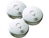 30% off Kidde 10-Year Worry Free Battery Smoke Alarm (3-Pack)