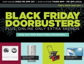 Black Friday Doorbusters + $10 off $40 Coupon