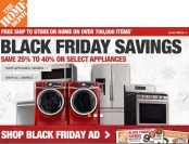 Black Friday Appliance Deals - Save 25% to 40% off Major Appliances