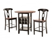 $126 off HomeSullivan Kamerfield 3-Pc Counter Height Dining Set