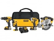 $517 off DeWalt DCK421D2 20V MAX Lithium-Ion 4-Tool Combo Kit