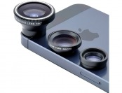 77% off Acesori A-ILK Smartphone Camera 4-Piece Kit w/ 3 Lens