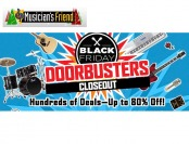 Musician's Friend Doorbusters Closeout Sale - Up to 80% off