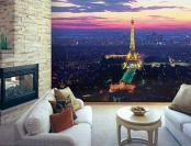 $92 off Paris Lights Eiffel Tower Huge Wall Mural