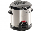 60% off Presto 1000 Watt Electric Deep Fryer - Silver (1 liter)