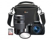 32% off Canon EOS Rebel T5i 18MP DSLR Camera Bundle Kit