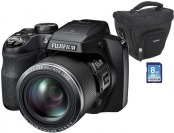 $230 off Fujifilm FinePix S9250 16.2MP Digital Camera Bundle
