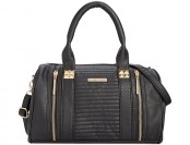 78% off Rampage Quilted Satchel - Black, Grey or Teal