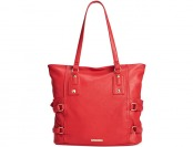 78% off Rampage Side Buckle Tote - Black, Brown or Red