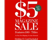 DiscountMags $5 Magazine Subscription Sale, 100+ Titles