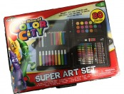 75% off Hero of Color City 80-Piece Art Set