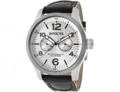 $455 off Invicta Men's I-Force Swiss Quartz Black Leather Watch