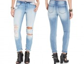 74% off Rewash Juniors' Destroyed Skinny Jeans