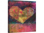 "$775 off Tantra Heart 36""x36"" Gallery Wrapped Canvas Artwork"