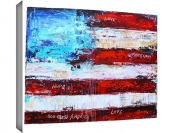 $585 off Jolina Anthony 'America' Gallery Wrapped Canvas Artwork