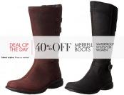 40% off Merrel Boots - Waterproof styles for women
