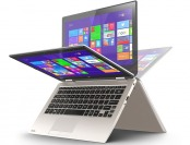 "$50 off Toshiba 11.6"" Touchscreen Satellite Radius 11 2-in-1 Laptop"