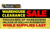 Musician's Friend Warehouse Sale - Up to 92% off - New Deals Added