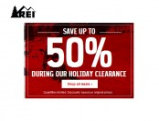 REI Holiday Clearance Sale - Up to 50% off Thousands of Items