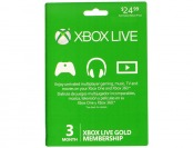20% off Microsoft Xbox Live 3 Month Gold Membership