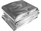 89% off Emergency Mylar Thermal Rescue Blankets (Pack of 10)