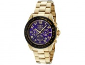 $640 off Invicta 10704 Speedway 18k Gold Ion-Plated Men's Watch