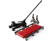 38% off Craftsman 3 Ton Floor Jack, Jack Stands and Creeper Set