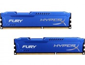 68% off HyperX Fury Series 8GB (2 x 4GB) DDR3 1600 Desktop Memory
