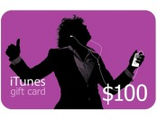 $15 off iTunes $100 Gift Card at Staples