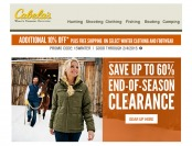 Cabala's End of Season Clearance - Up to 60% Off
