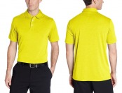 80% off PGA Tour Men's Pro Series Golf Short-Sleeve 2-Tone Polo Shirt