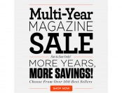 DiscountMags Multi-Year Magazine Sale - Over 100 Top Titles on Sale