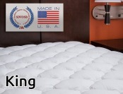 49% off Extra Plush King Fitted Mattress Topper (Marriott Hotels)