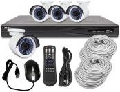 $303 off R-Tech Surveillance System, 4 Ch, 1080p, 1TB, PoE