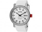 $655 off Red Line Compressor White Dial Silicone Watch