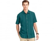 90% off Van Heusen Striped Casual Button-Down Men's Shirt, 2 Colors