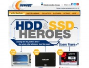 Newegg Hard Drive and Solid State Drive Sale